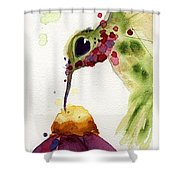 Eat Fresh II Shower Curtain