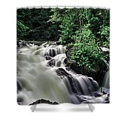 Eau Claire Gorge Water Fall Shower Curtain