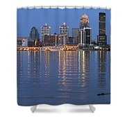 Ebb And Flow Of Louisville Shower Curtain