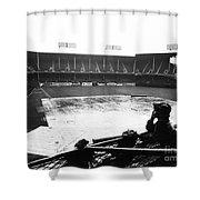 Ebbets Field, C1950 Shower Curtain