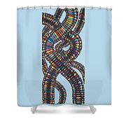 Ebe Dna  Shower Curtain