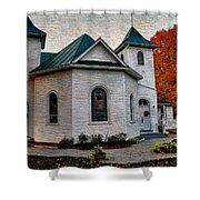 Ebenezer United Methodist Church Shower Curtain