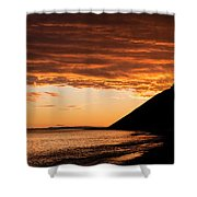 Ebey's Landing  Shower Curtain