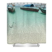 Ebute Shower Curtain