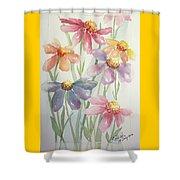 Echinacea Cheyenne Spirit Shower Curtain
