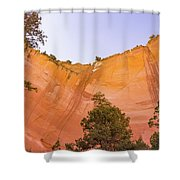 Echo Amphitheater Shower Curtain
