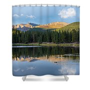 Echo Lake 6 Shower Curtain