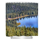 Echo Lake 7 Shower Curtain