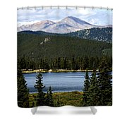 Echo Lake Colorado Shower Curtain