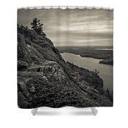Echo Lake Shower Curtain