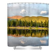 Echo Lake Painterly 1 Shower Curtain