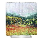 Echoes From Paradise Shower Curtain