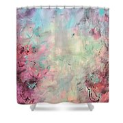 Echoes Of Joy Shower Curtain