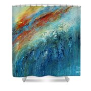Echoes Of Sunset Shower Curtain