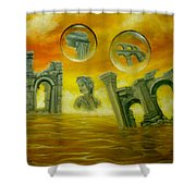 Echoes Of The Past Shower Curtain