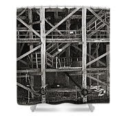 Echuca Wharf Shower Curtain
