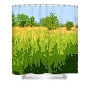 Eckert Skyline 1 Shower Curtain
