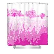 Eckert Skyline 5 Shower Curtain