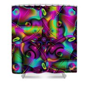 Eclectic Shower Curtain
