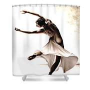 Eclectic Dancer Shower Curtain