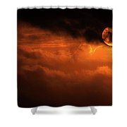Eclipse Shower Curtain