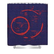 Eclipse Shower Curtain by Julie Niemela