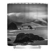 Ecola State Park Oregon Shower Curtain