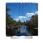 Econlockhatchee River Shower Curtain