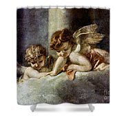 Ecstacy Of Saint Theresa Shower Curtain