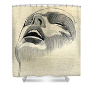 Meditating Shower Curtain