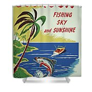 Ecuador 1950's Shower Curtain