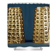 Ecuador: Gold Cuffs Shower Curtain
