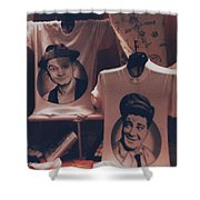 Ed And Ralphie Boy Shower Curtain