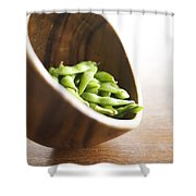 Edamame Shower Curtain by Kicka Witte - Printscapes