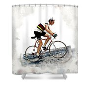 Eddie Merckx #2 Shower Curtain