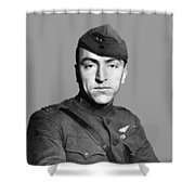 Eddie Rickenbacker Shower Curtain