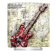 Eddie's Guitar 3 Shower Curtain