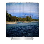 Eddy Park - Telkwa Shower Curtain