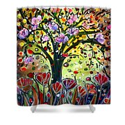 Eden Garden Shower Curtain