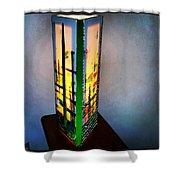 Eden Lamp Shower Curtain