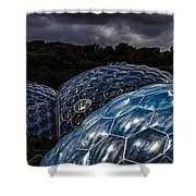 Eden Project Cornwall Shower Curtain