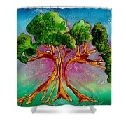 Eden's Tree Shower Curtain
