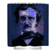 Edgar Allan Poe, Artsy 1 Shower Curtain