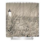 Edgartown Harbor Light Shower Curtain