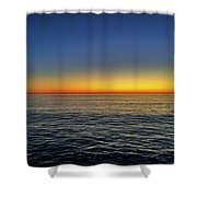Edge Of Day Shower Curtain