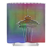 Edge Of The Needle Shower Curtain