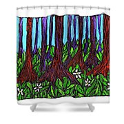 Edge Of The Swamp Shower Curtain