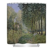 Edge Of The Wood Shower Curtain