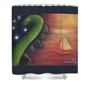 Edge Of The World Shower Curtain