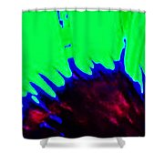 Edge Of Time And Space Shower Curtain